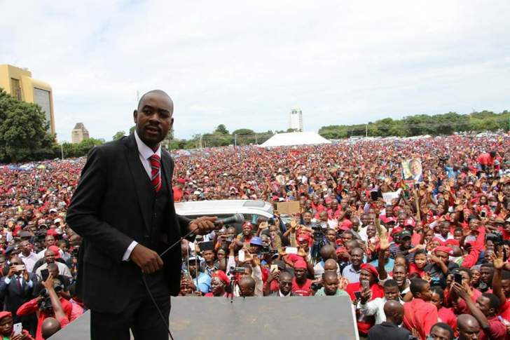 Chamisa humble yourself before the people!