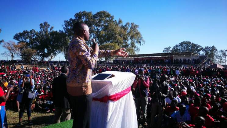 Chamisa's MDC has no more political depth than a finger bowl