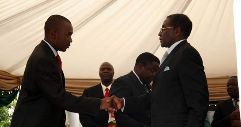 Zuma warned Chamisa against pact with Mugabe