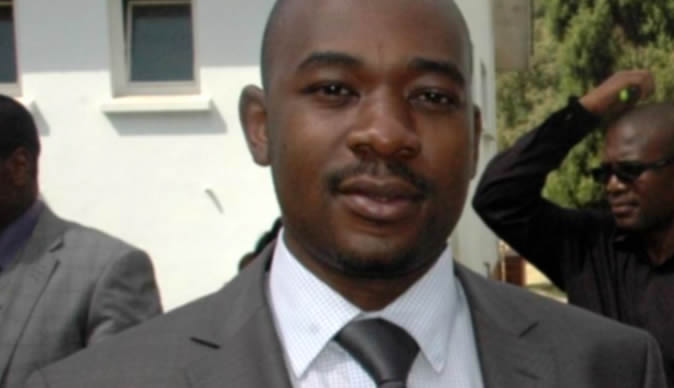 Campaign for Nelson Chamisa's presidency in 2018 begins