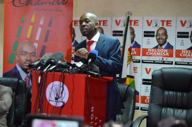 Chamisa reshuffles MDC top leadership