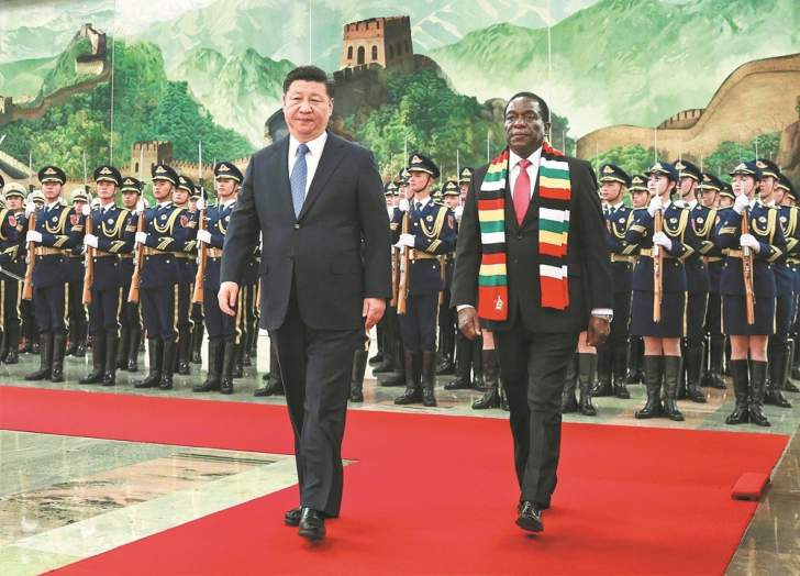 China Printing New Zimbabwe Currency In Exchange For Oil And Diamonds