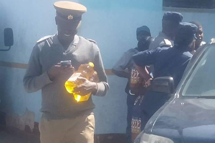 Cops scramble for cooking oil