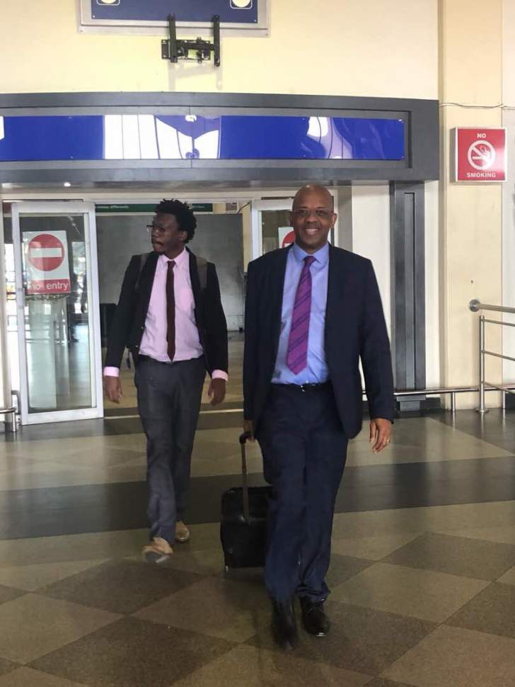 Dali Mpofu arrives in Zimbabwe for Chamisa petition