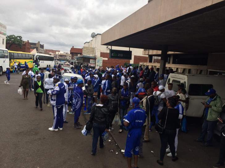 Dembare hooligans turn violent