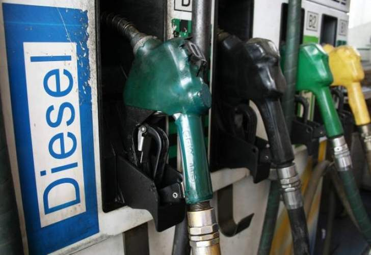 Price of diesel 50 to drop