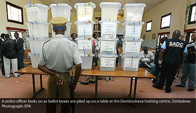 Election Resources Centre Zimbabwe monitoring by elections in Mudzi