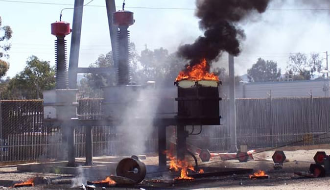 Man Electrocuted Burnt To Ashes Trying To Steal