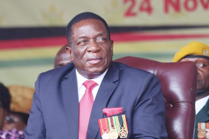 Mnangagwa takes Zim pitch to the world