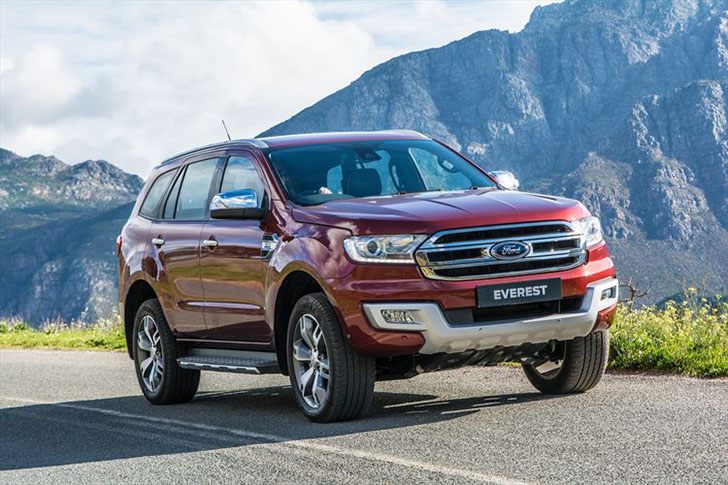 All-New Ford Everest Matches Refinement and Luxury with Rugged Capability