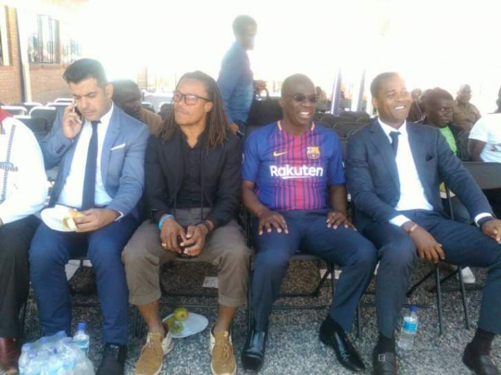 LIVE: Barcelona legends attend Mugabe rally in Gwanda