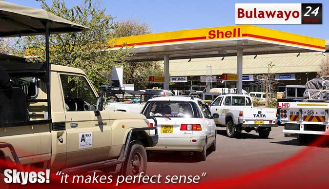 Zimbabwe motorists sleep in fuel queues