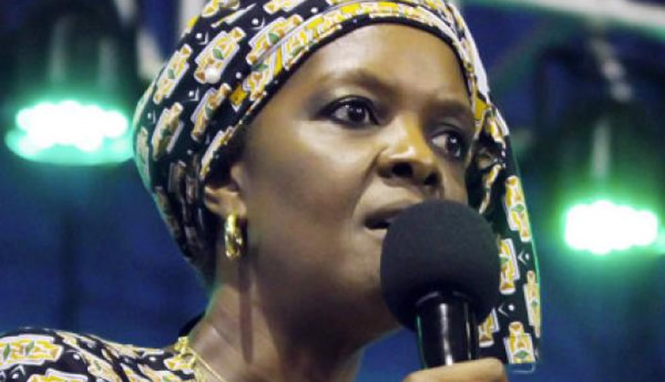 Grace Mugabe donates to 50 charity homes
