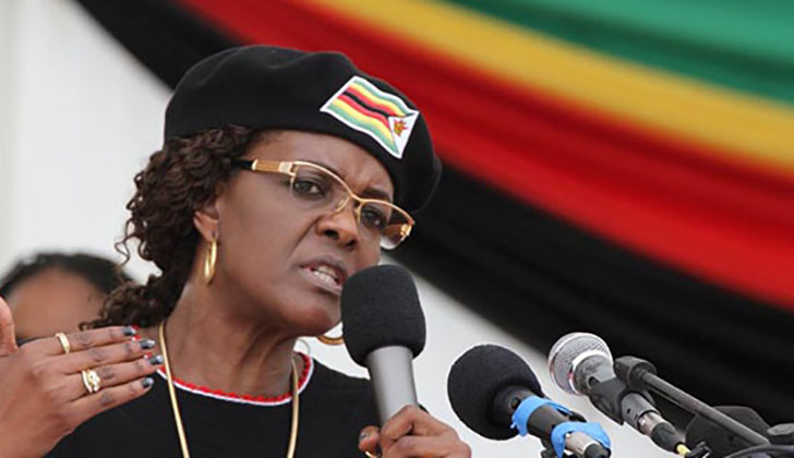 Grace Mugabe: We Will Field Mugabe in Elections Even If He Dies