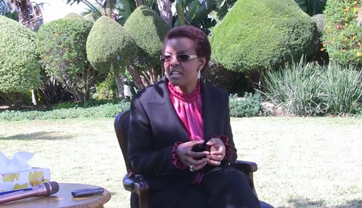 'I could be dead by now,' says Grace Mugabe