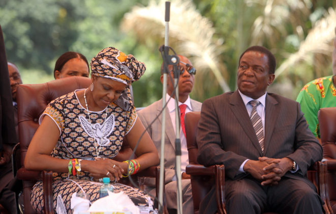 Grace Mugabe had gone mad, says Mnangagwa