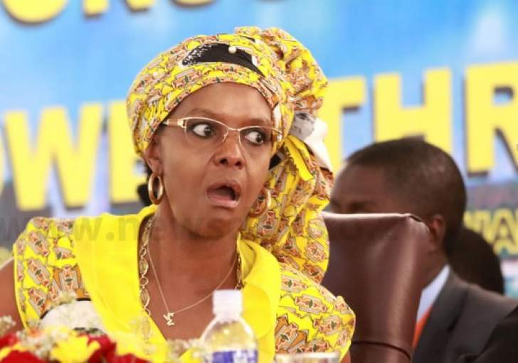 Grace Mugabe is being harrassed, says Mugabe