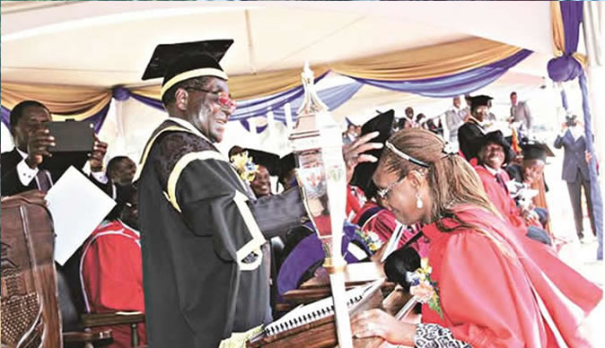 Grace Mugabe 'fake' degree gets UZ vice-chancellor suspended