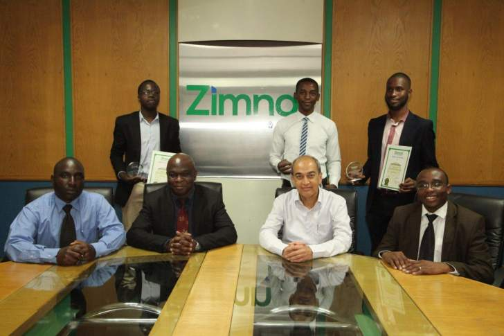 Zimnat rewards students who participated in hackathon