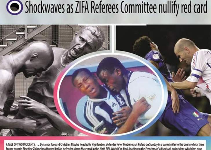 Dembare's letter to Chiyangwa over RED CARD