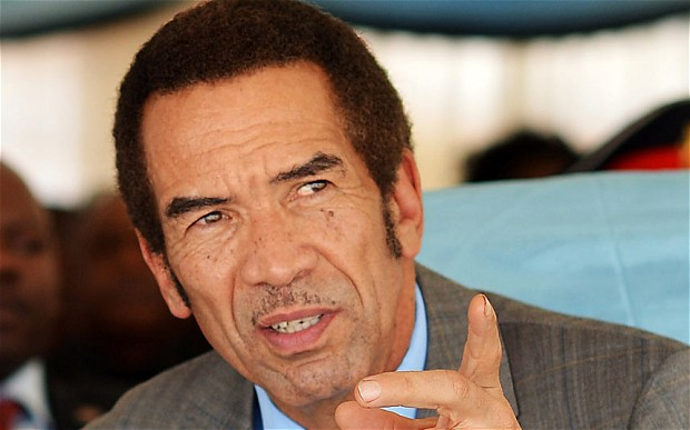 Ian Khama to be charged with treason