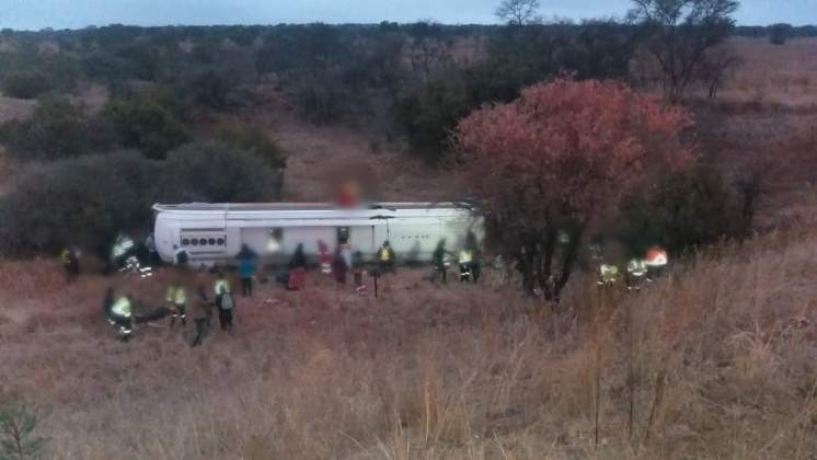 BREAKING: Harare - Johannesburg Intercape bus in accident, 10 people dead