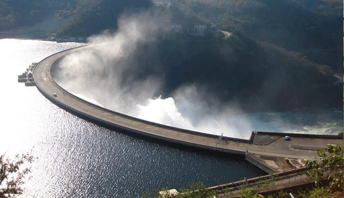 Kariba North experience low water levels