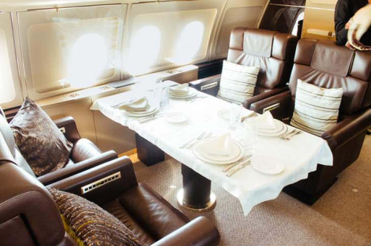 PHOTOS: Inside Mnangagwa's expensive luxury jet