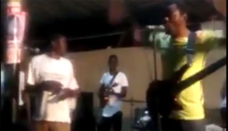 WATCH: Macheso rescues 'drunk' Mesi on stage