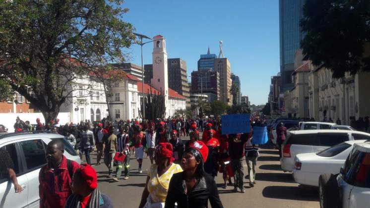 WATCH LIVE: MDC Alliance protests against ZEC