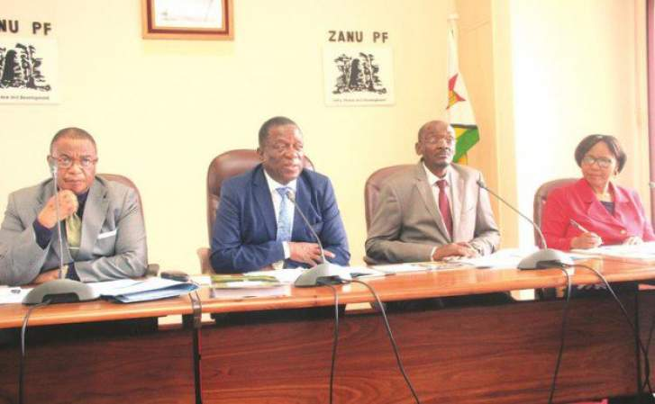 Mnangagwa's Politburo, Central Committee to meet