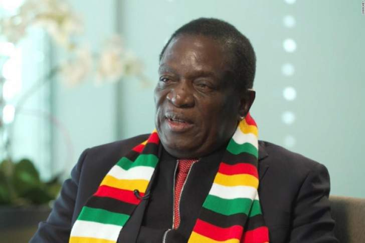 Mnangagwa aims to move Zimbabwe from pariah to global partner