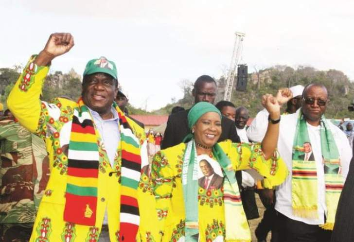 For Auxilia Mnangagwa to kick and scream: tip of the iceberg: she has seen the limit of what it takes to be married to Emmerson