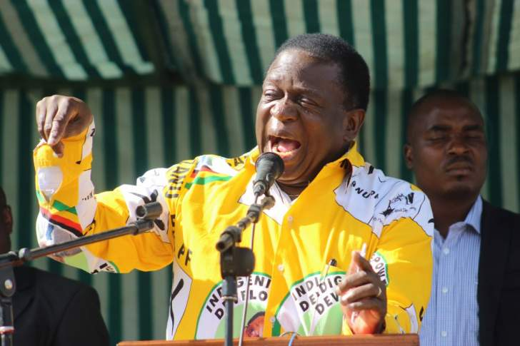 Mnangagwa kick-start his campaign in Manicaland