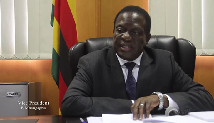 Mnangagwa asked to step in
