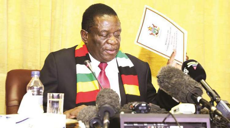 Mnangagwa pays US$1 to have sanctions lifted nicodemusly - proof does not want free elections, ever