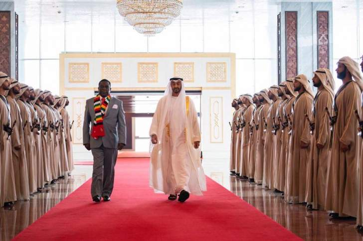 Mnangagwa impressed by UAE rise