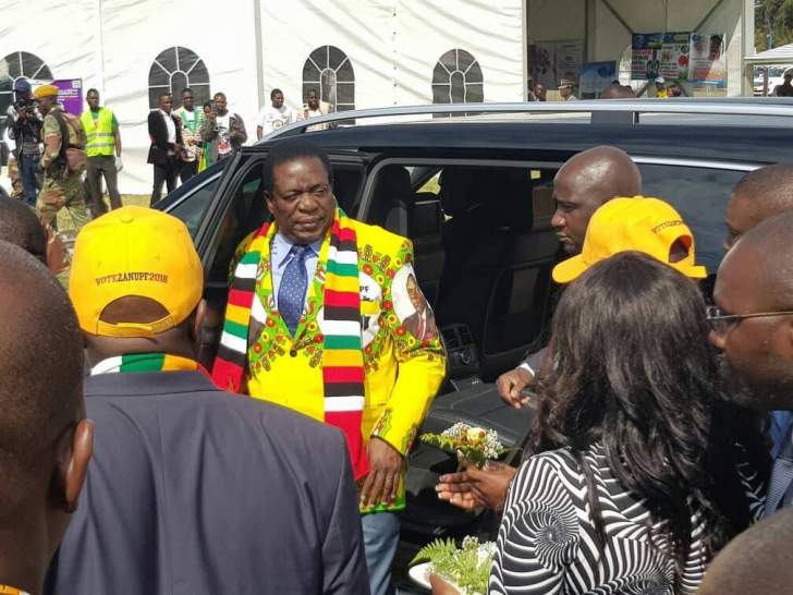 Mnangagwa descends on Matebeleland South