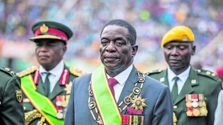 Zimbabwe is a military oligarchy, not a democracy