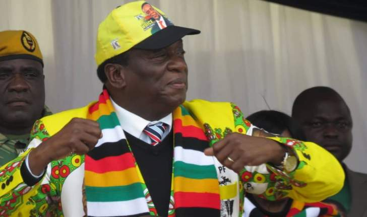 Mnangagwa scoffs at US sanctions