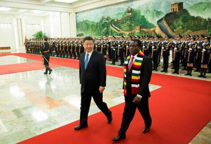 Mnangagwa visit: Chinese delegation jets in
