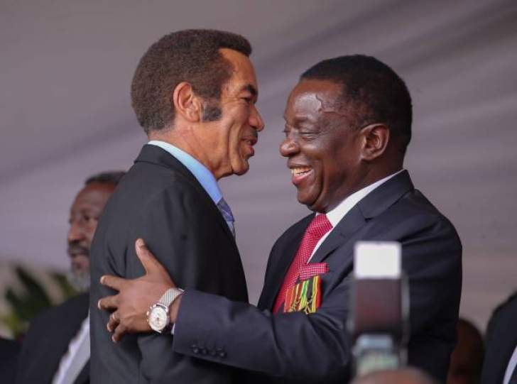 Ian Khama, Ramaphosa, Masisi coming for Mnangagwa inauguration
