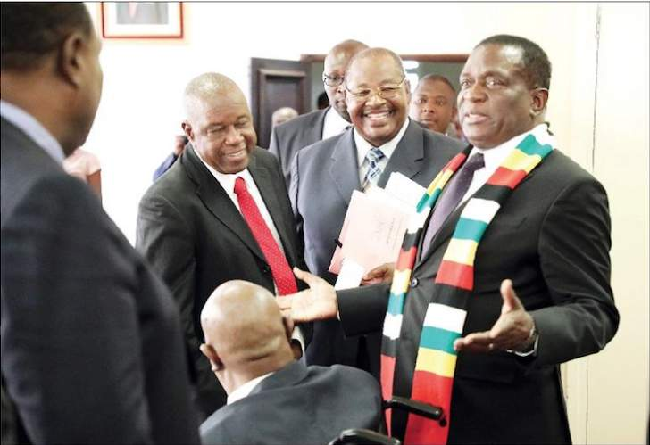 Mnangagwa keeps Chiwenga in check