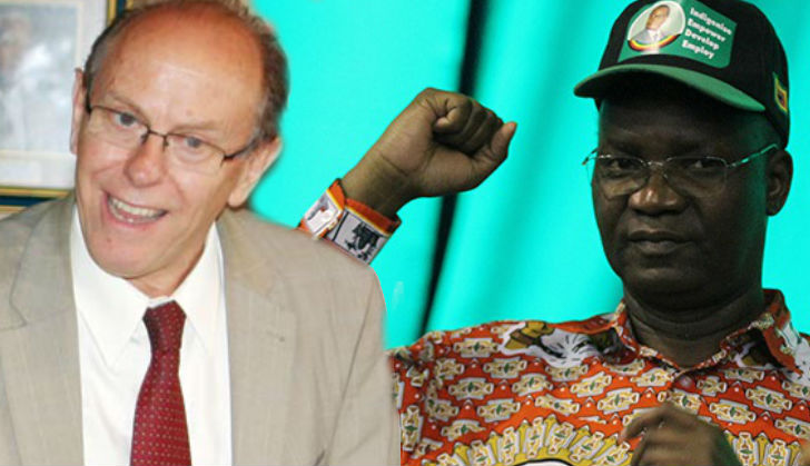 Jonathan Moyo in another social media war, calls Coltart a 'Rhodie idiot'