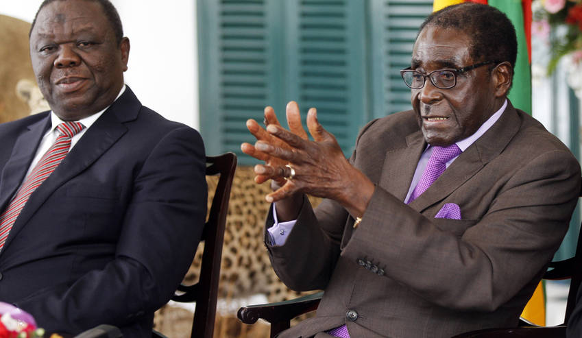 Mugabe, Tsvangirai most likely to be absent on ballot papers - NPP