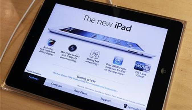 New iPad HD to go on sale Friday: Apple