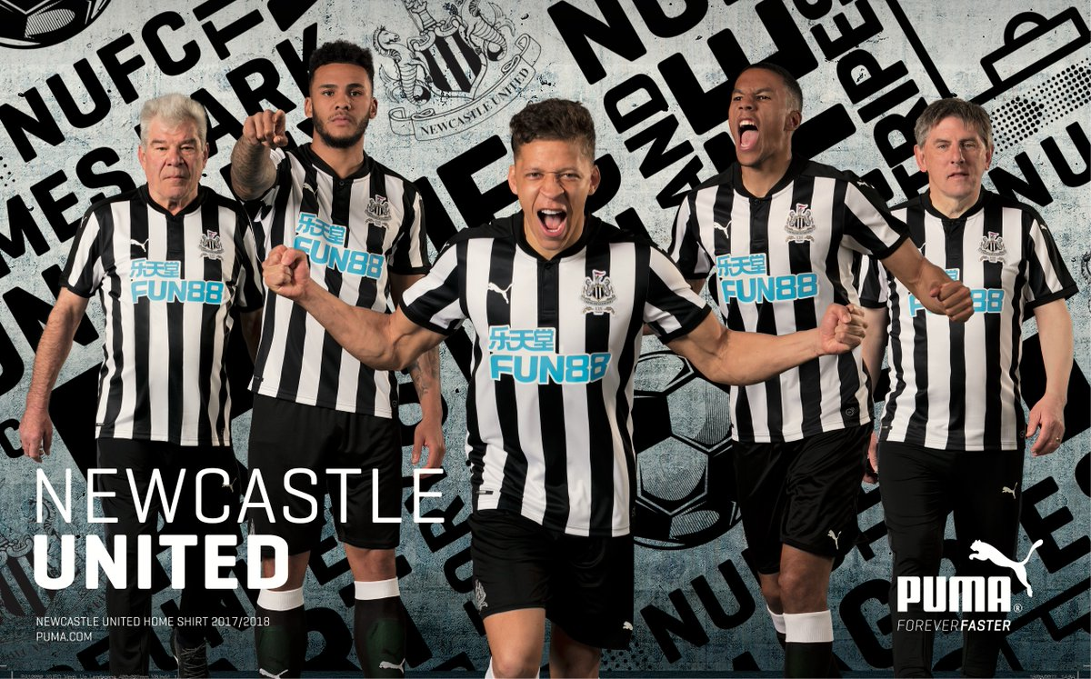 Newcastle United has new shirt sponsor