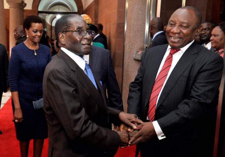 Mugabe was a towering figure against colonialism, says Ramaphosa