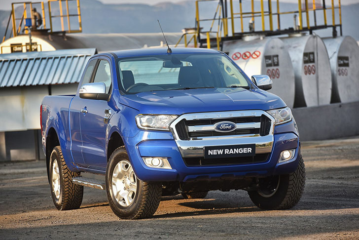 New tougher, smarter, more capable New Ford Ranger for Sub-Saharan Africa