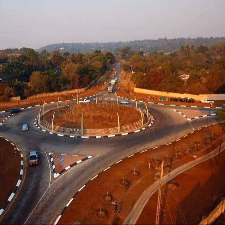 Row over new Harare roundabout